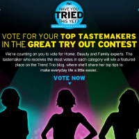 I'm a Finalist in the P&G Great Try Out Contest & I Would LOVE your VOTE