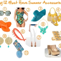 Want to Kick-Off the Season in Style? Checkout My 12 Must Have Summer Fashions & Accessories