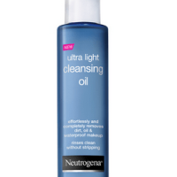 New from Neutrogena: Ultra Light Cleansing Oil