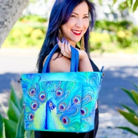 Anuschka Hand Painted Accessories Make A Colorful Fashion Statement