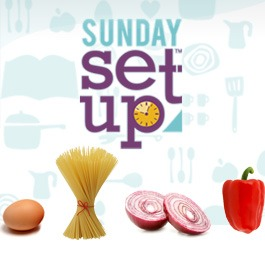 Sunday Set-Up: A Simple Way to Make Sure You Eat Healthy