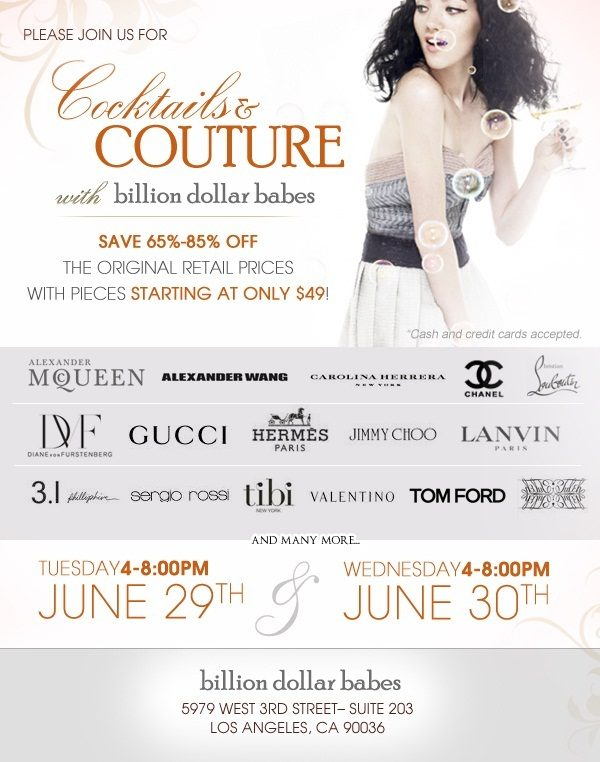 Billion Dollar Babes Sale: An Exclusive Invite