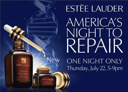 America's Night to Repair: Estée Lauder Giveaway