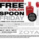 FREE Zoya Color Spoon Friday!!