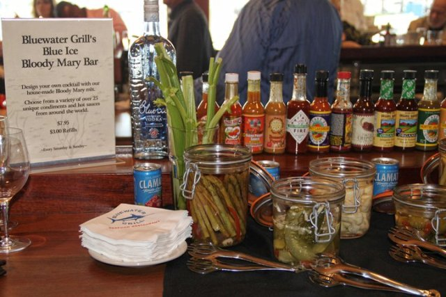 Bluewater grill sustainable seafood summit taste the difference romy raves - Blue water bar and grill ...