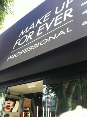 MAKE UP FOR EVER Opens A Flagship Store in LA