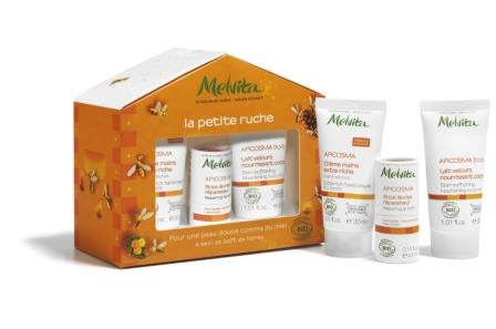 A Lovely Organic Skincare Line: Melvita For The Holidays