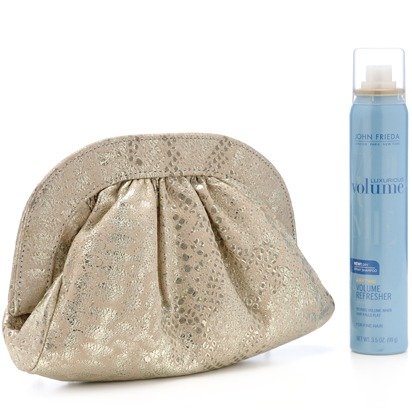 FABULOUS GIVEAWAY: Lauren Merkin for John Frieda Flyaway Tamer Clutch ($275 Value!)