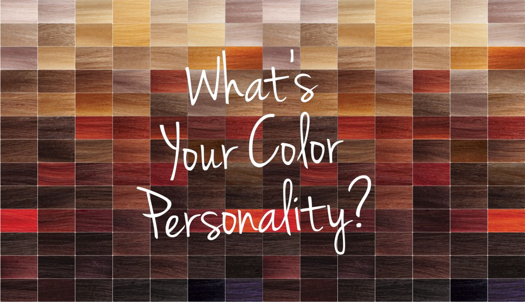 Whats Your Aloxxi Color Personality Making Hair Color Fun Client