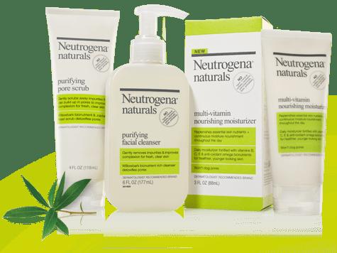 Sponsored Review: Neutrogena's New Natural Skincare Line - Romy Raves