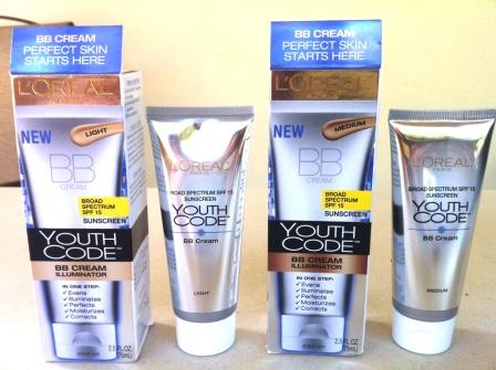 Sponsored Post: L'Oreal Paris Youth Code BB Cream Illuminator Product Review