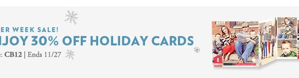 Tiny Prints 2012: My Favorite Holiday Cards This Season