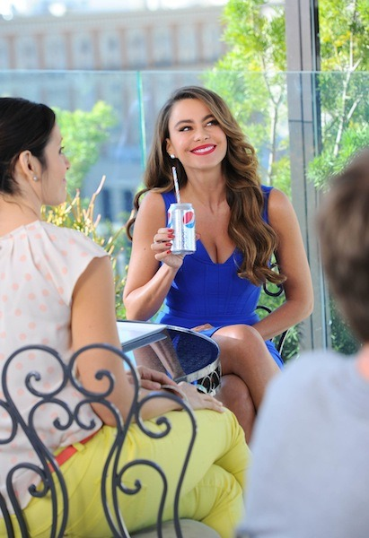 Sofía Vergara Pepsi commercial, Los Angeles