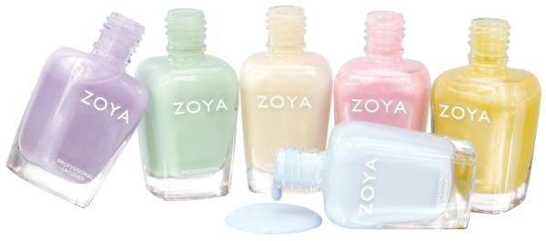 A Glimpse of Zoya Lovely Nail Polish Collection for Spring 2013