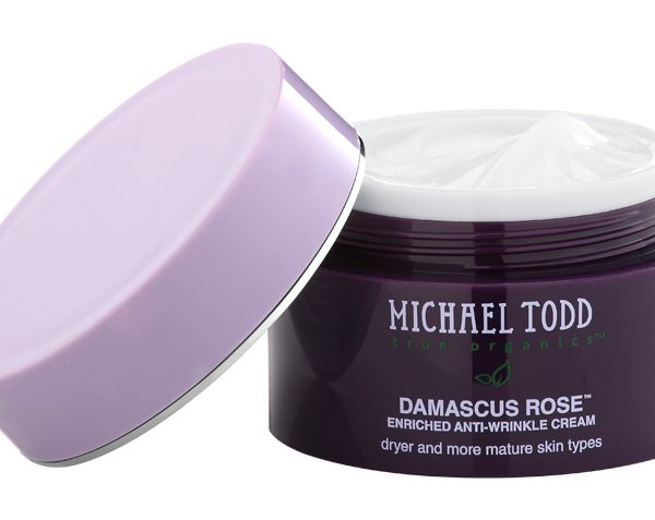 Michael Todd True Organics: Damascus Rose Cream Totally Rejuvenates Dry Skin