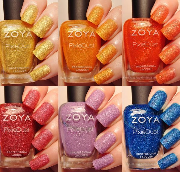 Statement Making Nail Polish: Zoya PixieDust Summer 2013 Collection