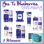 Sponsored GIVEAWAY: Yes To Blueberries Skincare Products (3 Winners)