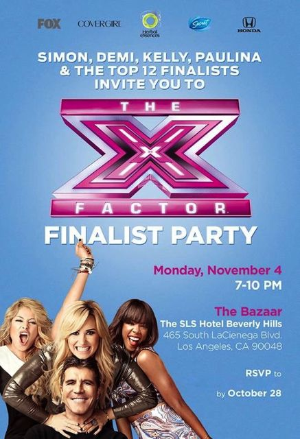 Life of a Blogger: An Inside Look at The X Factor Finalist Party