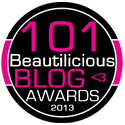 101 Beautilicious Blog Winner 2013 On DropOfPink Beauty Tip Blog