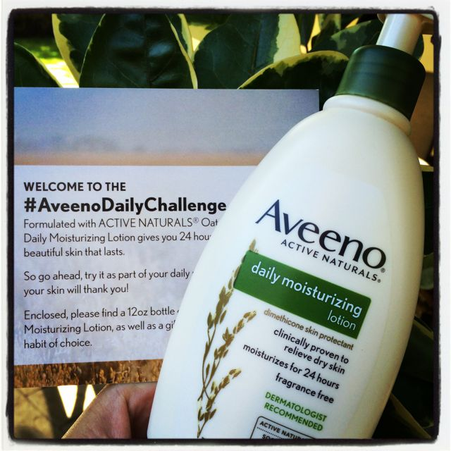 Aveeno Challenge