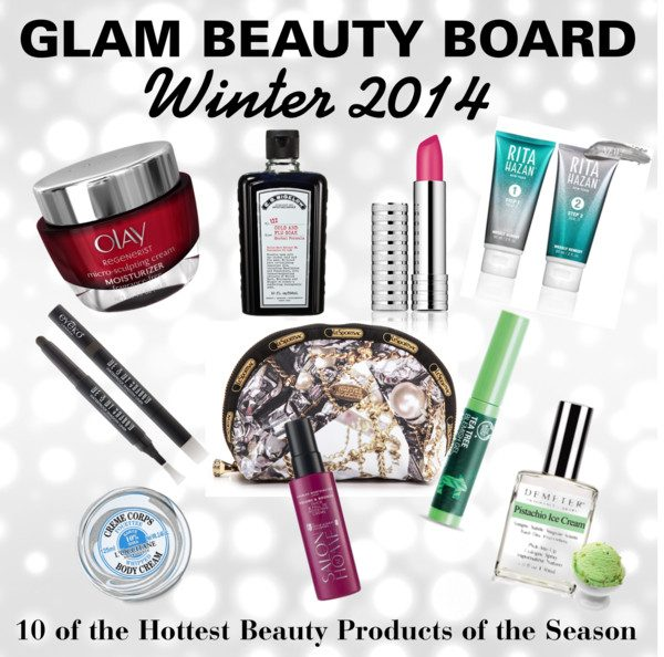 Glam Beauty Board: 10 of The Hottest Beauty Products of The Season