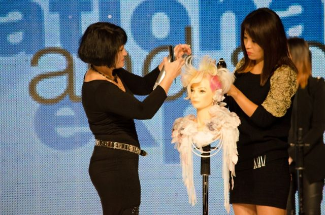 ISSE hair demo