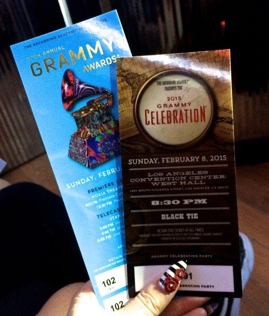 Grammys Tix