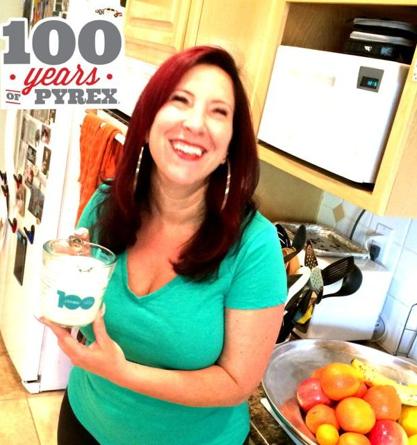 Cheers to Pyrex's 100th Anniversary #PYREX100! Here's My Deelish Sunday Brunch Coffee Cake Recipe
