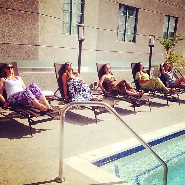 Orlando Sunbathing