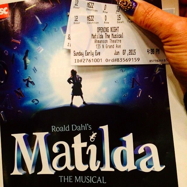 Matilda ticket