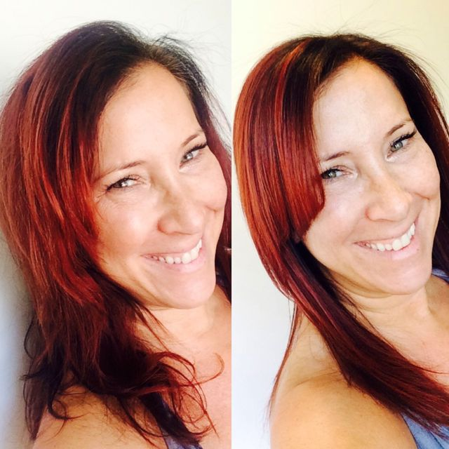 Cezanne Hair Smoothing Treatment With Master Stylist