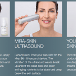 Mira-Skin Ultrasound Skincare Device: The Luxury of a Spa Treatment At Home