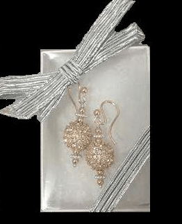 Crystal Athena Earrings