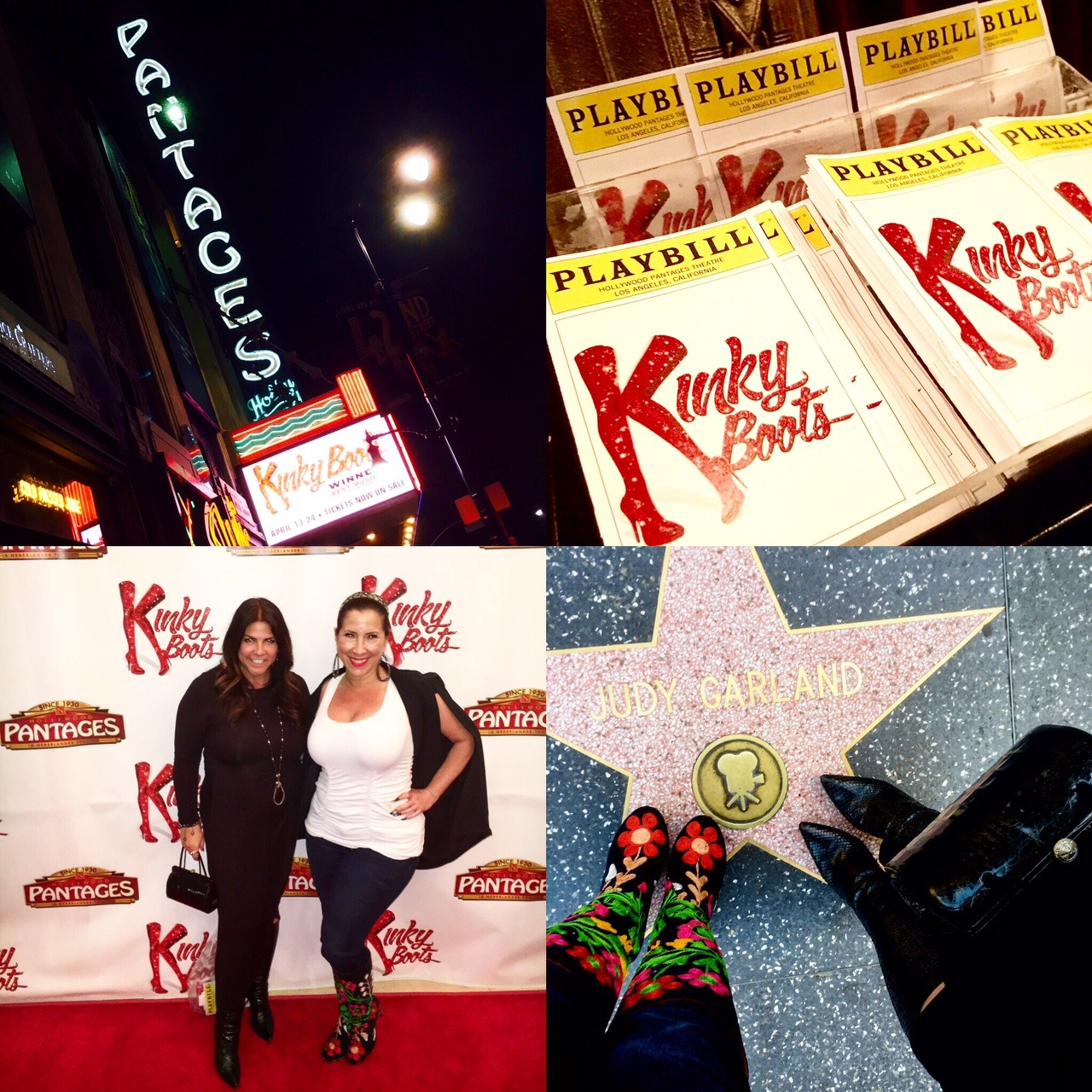 Kinky Boots Collage