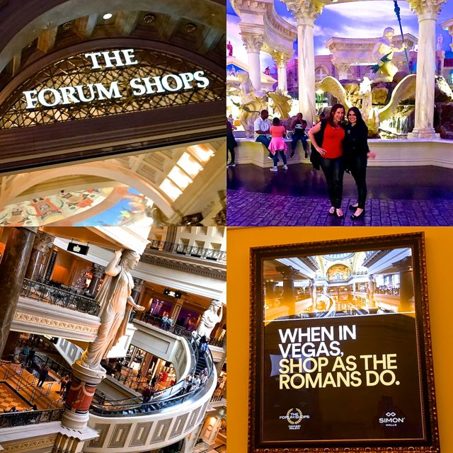 Vegas Forum Shops Collage
