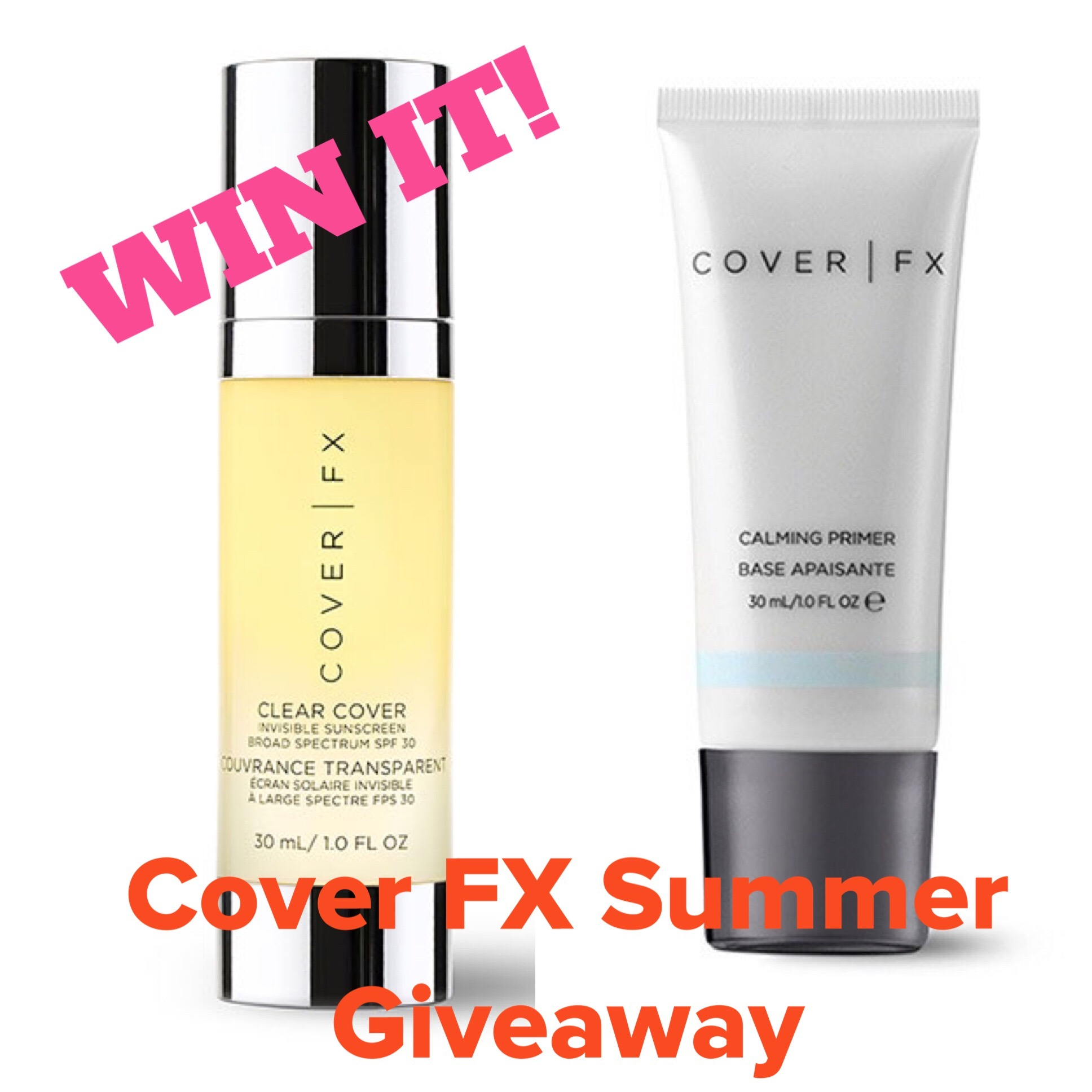 cover fx, makeup, skincare, spf, sunscreen, giveaway