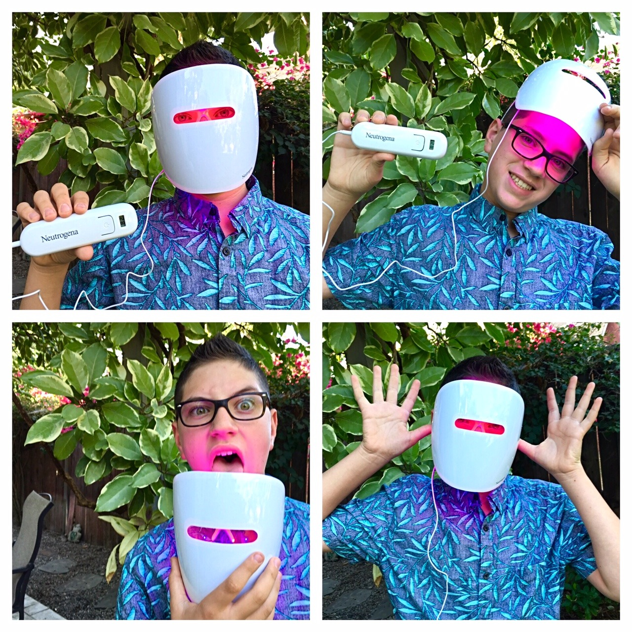 #MaskYoSelf with Neutrogena's New Light Therapy Acne Mask - Romy Raves