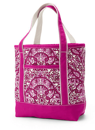lands' end, bca, tote