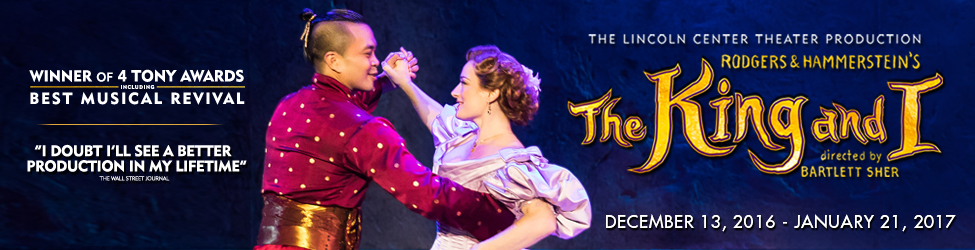 King & I, Pantages, Broadway