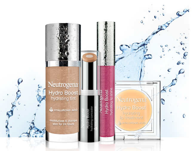 GIVEAWAY: Win Neutrogena's New Hydro Boost Cosmetics Collection (3 Winners/$300 Value) - Romy Raves