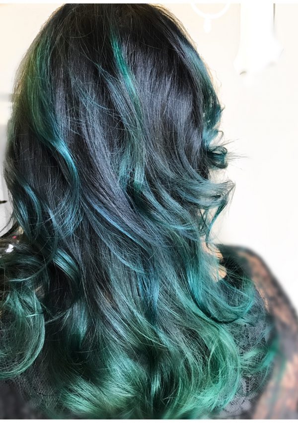 How Can A 40 Plus Woman Rock Colorful Mermaid Hair?