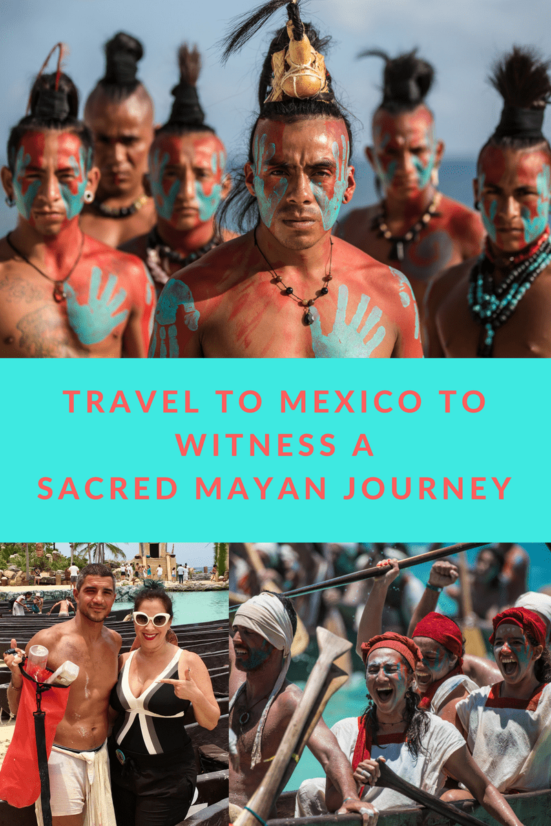 I recently visited Xcaret Park in Mexico to witness a Sacred Mayan Journey where hundreds of oarsmen travel to Cozumel to seek the Blessings of a Goddess