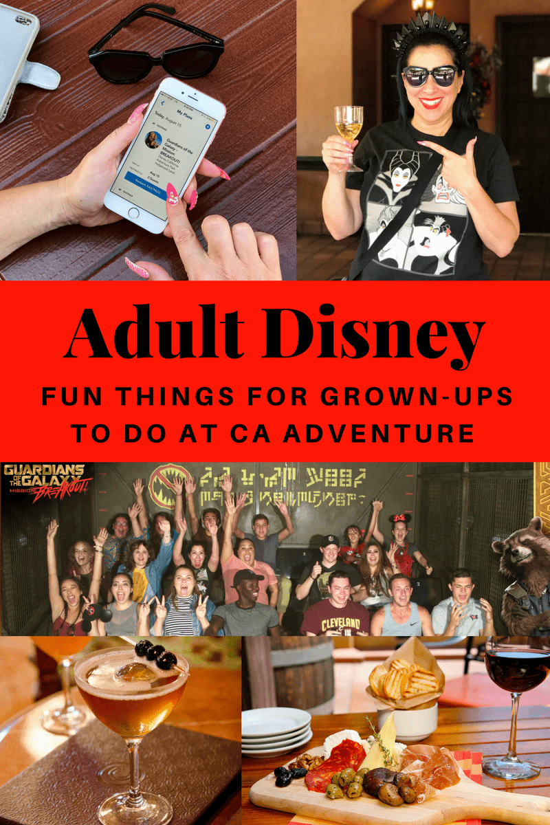 Have you ever experienced Disney Parks as a Grown-Up? I recently visited CA Adventure & discovered 5 things that allow adults to love Disney as much as kids