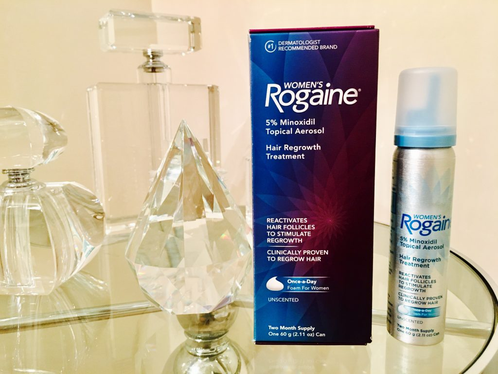 In honor of Hair Loss Awareness Month, I've partnered with Women's Rogaine® to help you better understand the causes of thinning hair & how to treat it