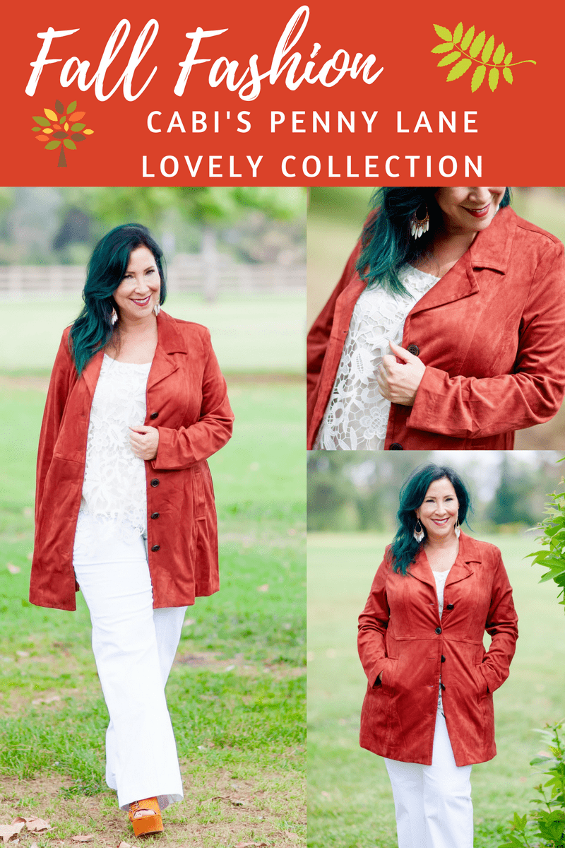 Fall is in the air and it's time to cozy up your wardrobe with Cabi's Penny Lane Lovely Collection. The pieces are chic, fashionable & perfect for cooler weather