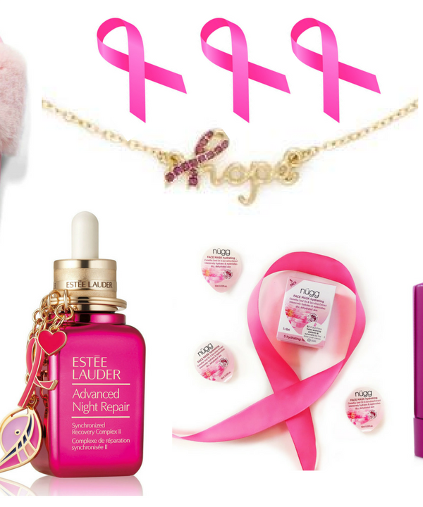 Every October, I round-up a fabulous assortment of beauty and fashion items that give back to Breast Cancer Awareness causes. Here are my 7 favorite BCA products for 2017