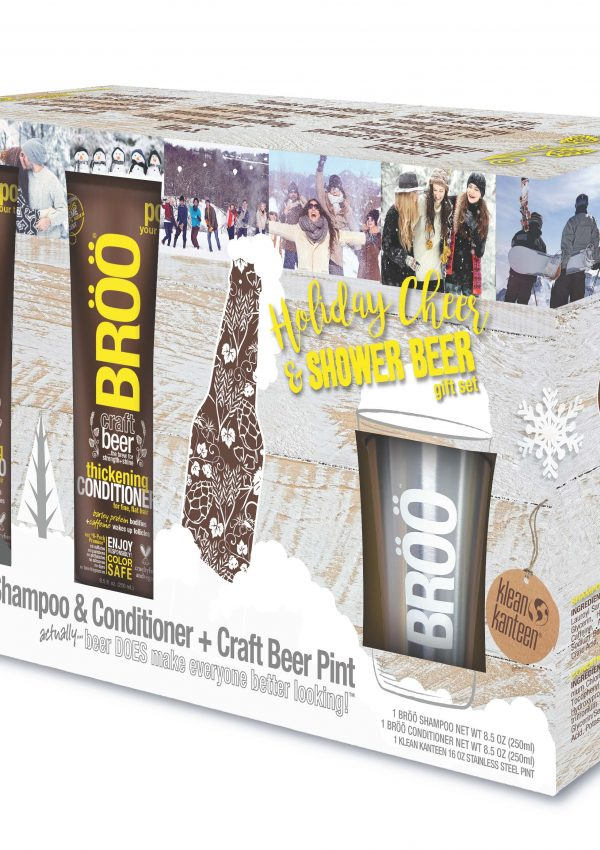 Fabulous Unisex Gift Idea: BRÖÖ Holiday Cheer Gift Set