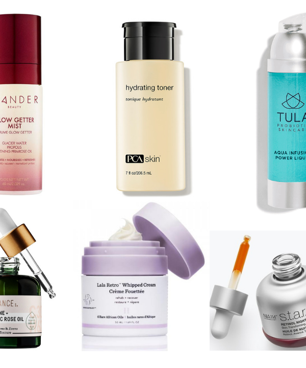 Just in time for the colder weather months, I wanted to share 10 of my current favorite dry skin transforming products for women over 40.