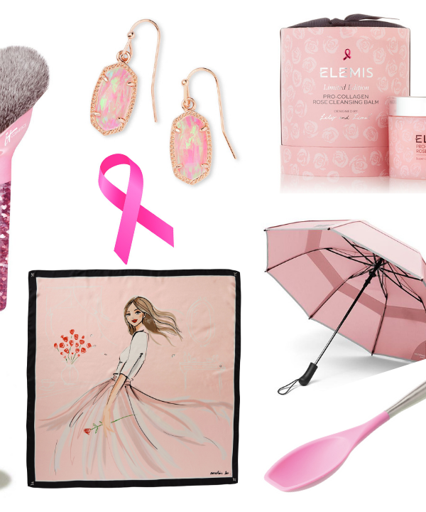Every October, I round-up an fabulous lifestyle items that give back to Breast Cancer Awareness causes. Here are my 10 favorite BCA products for 2018