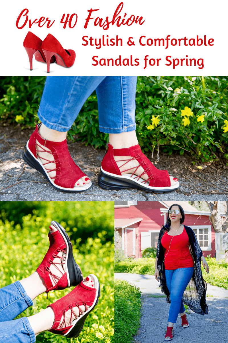 In celebration of Spring, I've partnered with Jambu & Co. to tell you about their incredibly comfortable & supportive sandals that don't compromise on style.